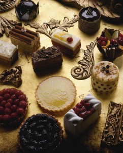 Fruit Tarts and Petit Fours - Image royalty free ClipArt