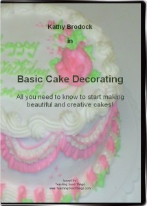 Cake Decorating DVD with Kathy Brodock - Perfect for Beginners!
