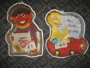 Big Bird and Ernie Sesame Street Cake Pans - You may not always be able to find retired cake pan designs on Amazon here, you can still find some wonderful other ones!