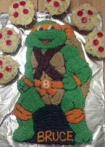 Teenage Mutant Ninja Turtle Cake (by Kim)